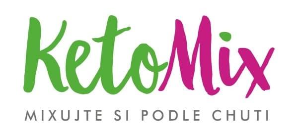 Logo KetoMix. Ketonovou dietu si namixujte podle chuti.