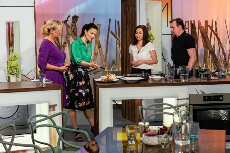 Tělupilka komentovala vaření zdravé stravy vSama doma.